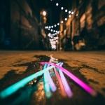 Glowing roads?