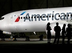American Airlines' New Logo.